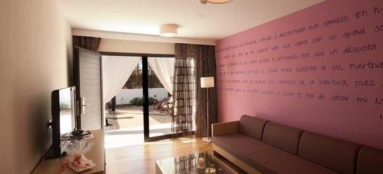 7 nights at the 4* R2 Romantic Fantasía Suites Design Hotel & Spa, Tarajalejo, Fuerteventura