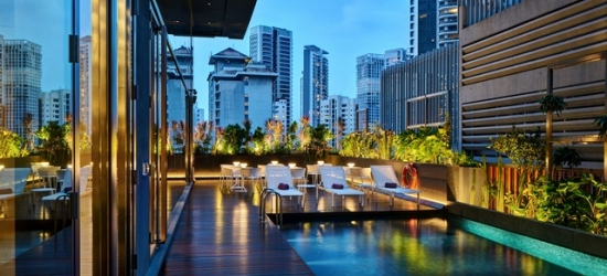£106 per cabin per night | YOTEL Singapore, Singapore