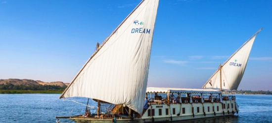 Magnificent Nile cruise on a 1920s-style sailing boat, Luxor, Esna, Edfu, Kom Ombo & Aswan
