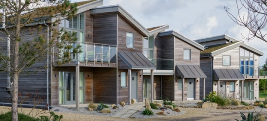 A modern lodge at a heavenly Cornish retreat with leisure facilities