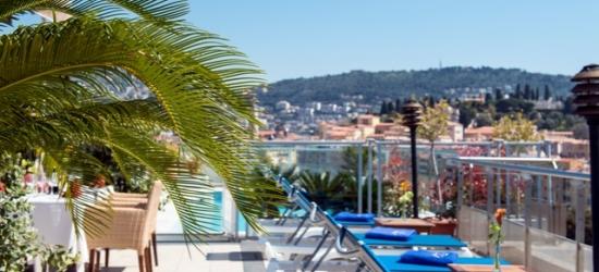 £74 per night   Hotel Aston La Scala, Nice, French Riviera
