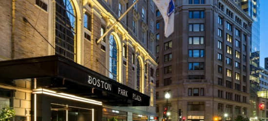 £89 per night | Historic luxury hotel steps from Boston Common, Boston Park Plaza, Massachusetts