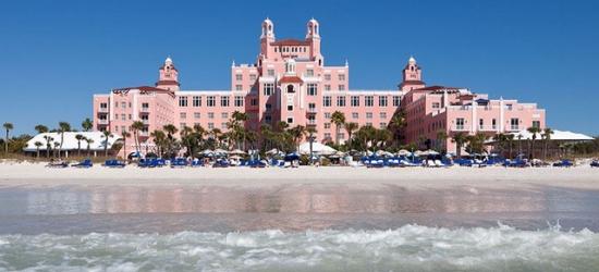 £145 per night | Legendary luxury hotel on St. Pete Beach, The Don CeSar, St. Pete Beach, Florida