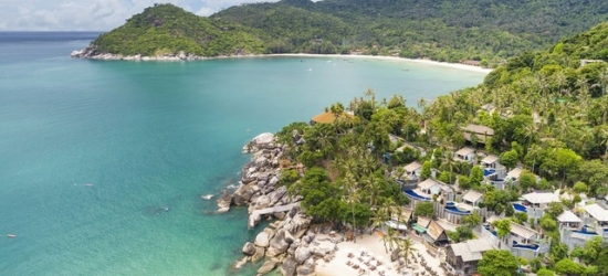 £85 per night | Panviman Resort, Koh Phangan, Thailand