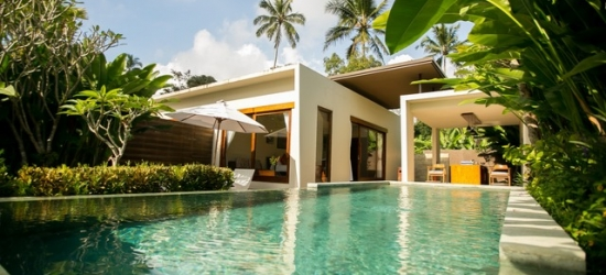 £101 per villa per night | Senetan Villas & Spa Resort, Bali, Indonesia
