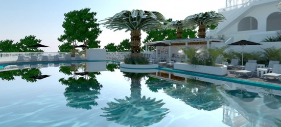 £60 per night | Bianco Olympico Beach Resort, Halkidiki, Greece