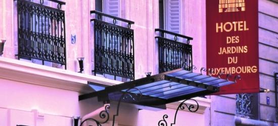 £100 per night | Hotel Les Jardins du Luxembourg, Paris, France
