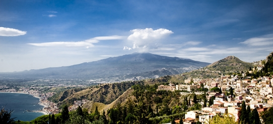 5* Sicily escape to an elegant Mount Etna villa with car hire