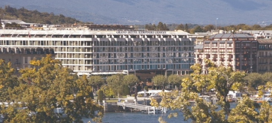 £247 per night | Grand Hotel Kempinski Geneva, Geneva, Switzerland