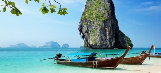 Tropical Thailand beach, island & hot-spring spa escape