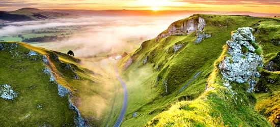 £126 per night | Peak District hiking with a country mansion stay, Shrigley Hall Hotel, Cheshire