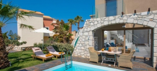 Idyllic Crete holiday with a private pool suite, Diamond Village, Greece