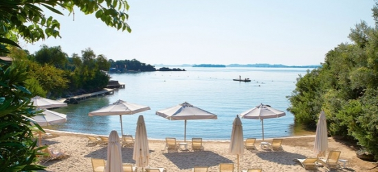 5* Corfu getaway at a stylish hotel on a private peninsula, Grecotel Corfu Imperial, Greece