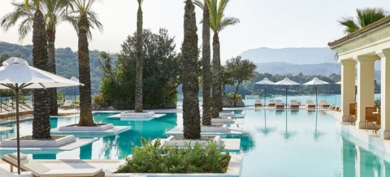 Premium all-inclusive Corfu holiday at a secluded retreat with last-minute dates, Eva Palace Grecotel Luxury Resort, Greece