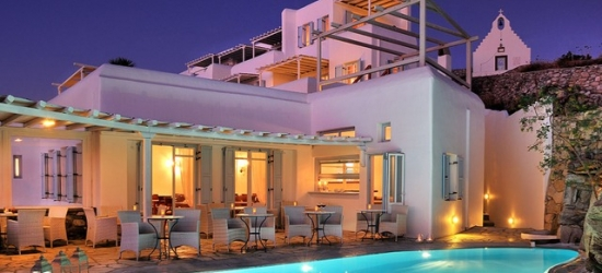 £175 per night | Deliades Hotel, Mykonos, Greek Islands