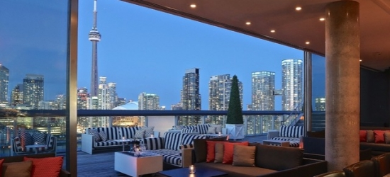 £96 per night | Buzzed-about boutique hotel in downtown Toronto, Thompson Toronto, Ontario, Canada