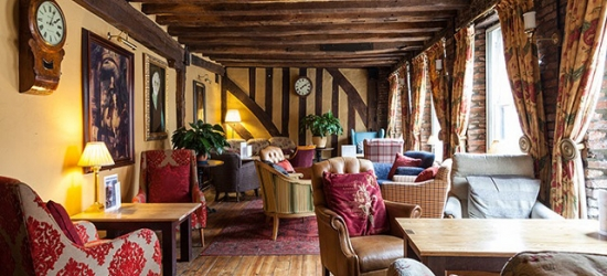 £79 per night | The Saracens Head Hotel, Southwell, Nottinghamshire