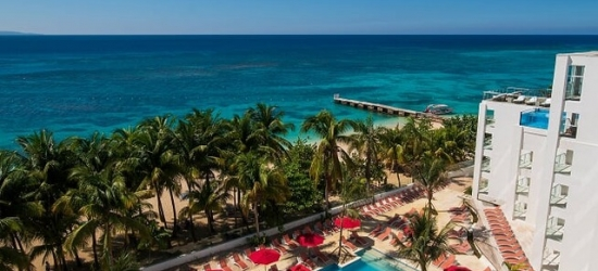 Blissful Jamaica beachfront escape with an ocean-view suite, Montego Bay, Jamaica