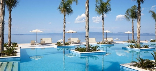 5* Halkidiki spa & beach escape with a suite stay, Miraggio Thermal Spa Resort, Greece