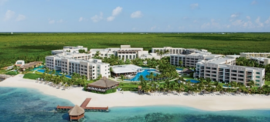 5* all-inclusive Riviera Maya luxury holiday with a pool-view suite, Secrets Silversands Riviera Cancun, Mexico