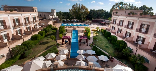 5* Sicily holiday at chic country spa hotel, Giardino di Costanza Luxury Resort, Italy