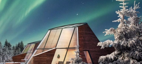 Epic Finnish Lapland escape in a luxe glass apartment, Glass Resort, Rovaniemi, Finland