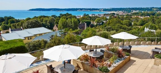 United Kindom / Jersey - Beautiful Boutique with Panoramic Views with Included Car Hire at the Hotel Cristina 4*