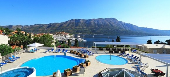 Croatia / Korcula - Amazing Accommodation with a View of the Old Town at the Marko Polo Hotel 4*