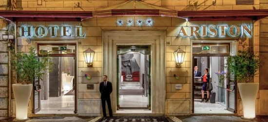 Rome - Modern Boutique Style near the Colosseum at the Hotel Ariston 4*