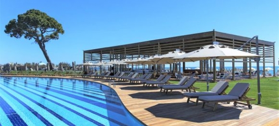 Belek - Breathtaking Beachfront Stay with Land of Legends Package at the Rixos Premium Belek