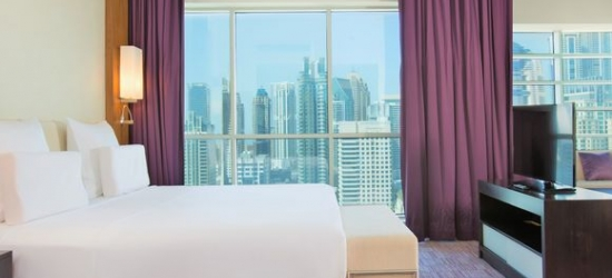 United Arab Emirates / Dubai - Rooftop Pool & City Views at the Pullman Jumeirah Lakes Towers 5* with Dubai City, Cruise & Desert Excursions