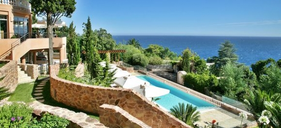 15km From Cannes - Enjoy a Classy Hotel & Vistas of Sparkling Sea  at the Hotel Tiara Yaktsa Côte d'Azur 5*