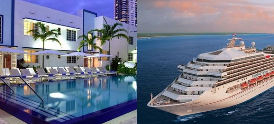 Miami - Boutique South Beach Bliss & Optional Caribbean Cruise at the Pestana Miami South Beach 4* & Optional Bahamas Cruise