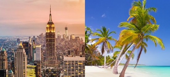 New York City & Puerto Plata - Big Apple Experience with All Inclusive Caribbean Twist at the AC Hotel by Marriott Times Square 4* & VH Atmosphere Adults Only & Beach Club