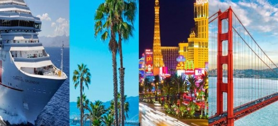 Los Angeles, Las Vegas, San Francisco & Mexican Riviera  - Stay in Three Iconic Cities with a Mexican Cruise at the Luxor Hotel & Casino, The Queen Mary, Hotel Diva & Mexican Riviera Cruise