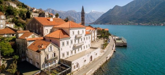 Montenegro / Perast - 18th Century Luxury Between a Panorama of Sea and Mountains at the Iberostar Grand Perast 5*