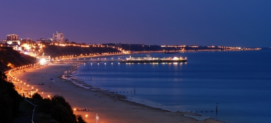 Bournemouth: Double Room for Two with Breakfast, Dinner, Coffee or Tea with Cake, Wine and Spa Access at Trouville Hotel