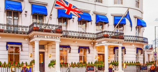 London: Classic Double Room for Two with Breakfast and Optional Dinner or Afternoon Tea at London Elizabeth Hotel