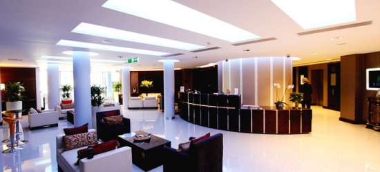 London: Standard or Deluxe Double Room with Prosecco, Spa Access and Option on Dinner at 5* Hotel Rafayel
