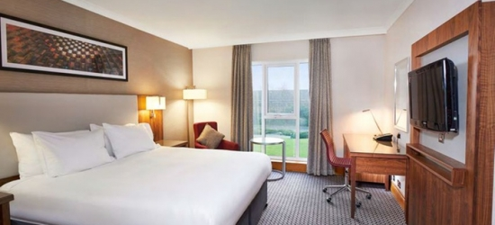Coventry: Double Room for Two with Breakfast, Dinner and Leisure Access at DoubleTree by Hilton Hotel Coventry