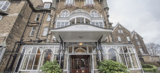 Harrogate: 1 Night for Two with Breakfast, 3-Course Carvery-Style Dinner, Wine and Late Check-Out at The Cairn Hotel