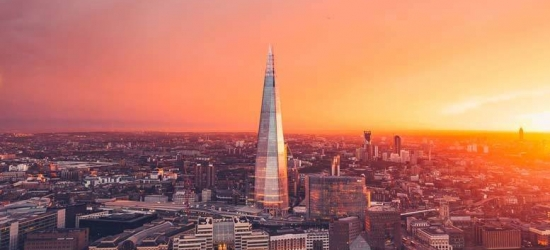 1-2nt 4* London Break, View from The Shard, Thames Cruise & Breakfast
