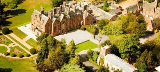 4* Warwickshire Escape, Breakfast & Spa Access for 2 @ Wroxall Abbey