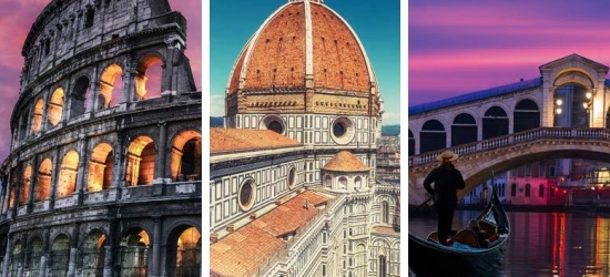 6-9nt Rome, Florence & Venice Multi-City Tour, Transfers