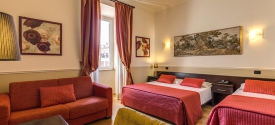 3 nights at the 2* Everest Inn Rome, Rome