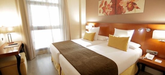 3 nights at the 3* Hotel Puerta de Toledo, Madrid