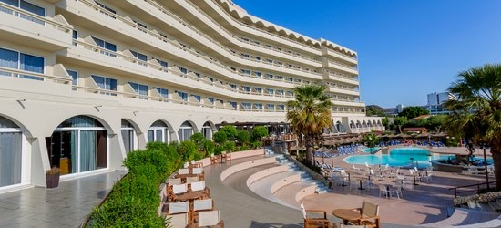 7 nights at the 4* Dessole Olympos Beach Resort-All Inclusive, Faliraki, Rhodes