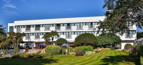 Gourmet Jersey break with car hire & an ocean-view room, The Atlantic Hotel, St Brelade