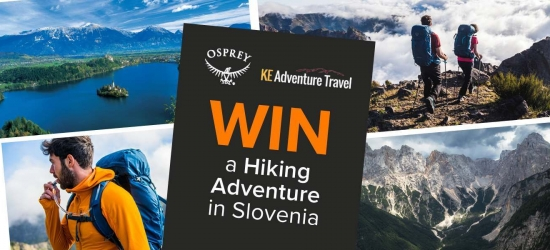 Win a trekking holiday to Slovenia + Osprey kit, worth £3,000