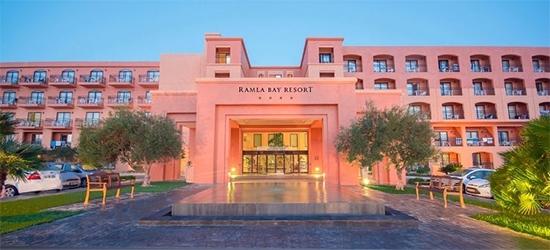 7 nights at the 4* Ramla Bay Resort, Malta